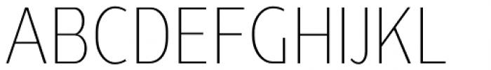 Ye Paradigma Condensed Light Font UPPERCASE