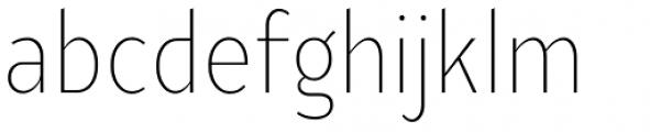 Ye Paradigma Condensed Light Font LOWERCASE