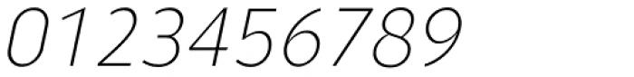 Ye Paradigma Light Italic Font OTHER CHARS