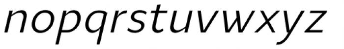 Ye Paradigma Regular Italic Font LOWERCASE