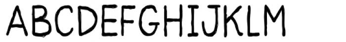 Yearnboy 11 Font UPPERCASE