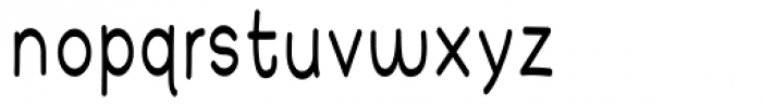 Yearnboy 6 Font LOWERCASE