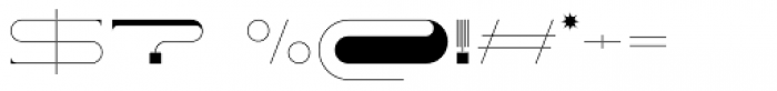 Yeezus Regular Font OTHER CHARS