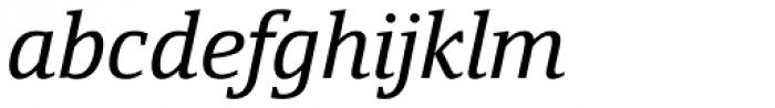 Yefimov Serif Italic Font LOWERCASE