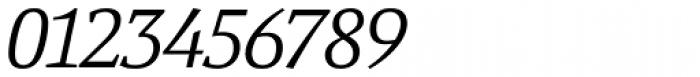Yefimov Serif Light Italic Font OTHER CHARS