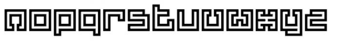 Yekuana Pro Regular Font LOWERCASE