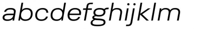 Yeni Zaman Expd Light Italic Font LOWERCASE
