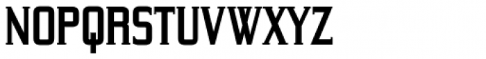 Yeoman Gothic RR Bold Font LOWERCASE
