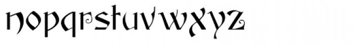 Yes Dear Font LOWERCASE