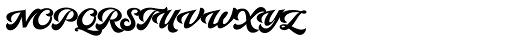Yes Script Regular Font UPPERCASE