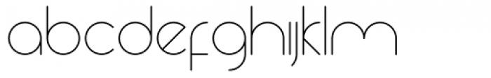 Yesterday Thin Font UPPERCASE