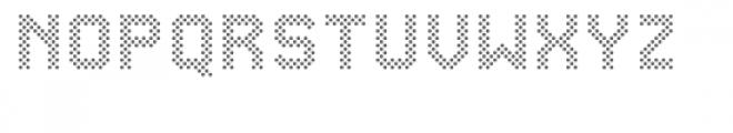 Yep Font LOWERCASE