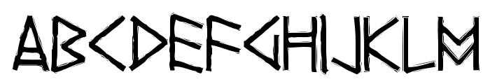 Yggdrasil Font UPPERCASE