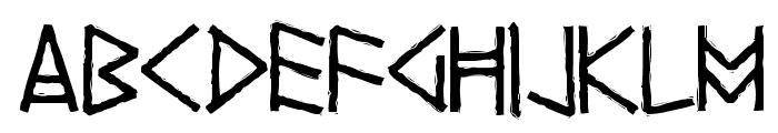 Yggdrasil Font LOWERCASE