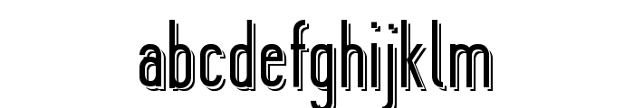 Ygraine Shadow Font LOWERCASE
