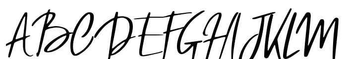 Ygritte Regular Font UPPERCASE