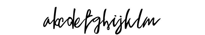 Ygritte Regular Font LOWERCASE