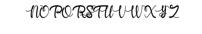 Yhulliantti Font UPPERCASE