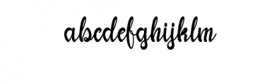 Yhulliantti Font LOWERCASE