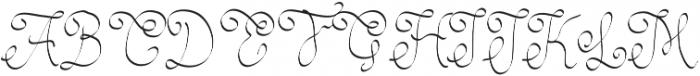yitr ttf (400) Font UPPERCASE