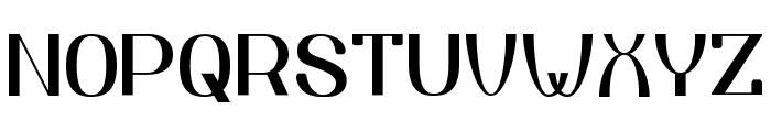 Yiggivoo Normal Font UPPERCASE