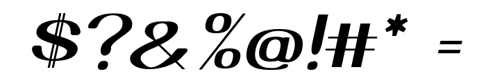 Yiggivoo Unicode  Italic Font OTHER CHARS