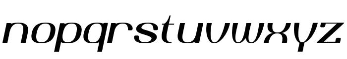 Yiggivoo Unicode  Italic Font LOWERCASE
