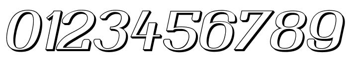 YiggivooUnicode3D-Italic Font OTHER CHARS