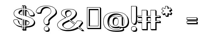 YiggivooUnicode3D Font OTHER CHARS