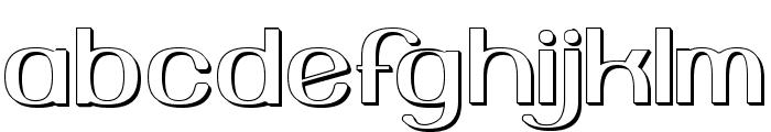 YiggivooUnicode3D Font LOWERCASE