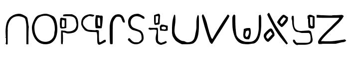 Yikatu Font UPPERCASE