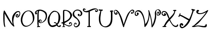 Yippy Skippy Alt Font UPPERCASE