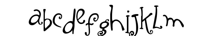 Yippy Skippy Alt Font LOWERCASE