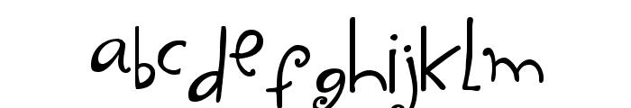 Yippy Skippy Font LOWERCASE