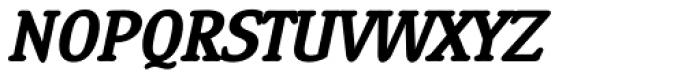 Ying SemiBold Italic Font UPPERCASE