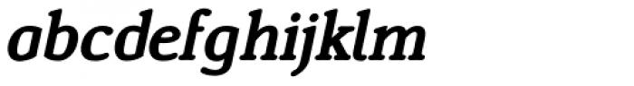 Ying SemiBold Italic Font LOWERCASE