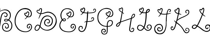 ylee-DALKOM-Roll-Cake Font UPPERCASE