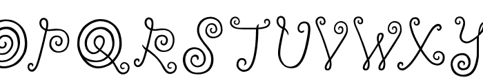 ylee-DALKOM-Roll-Cake Font LOWERCASE