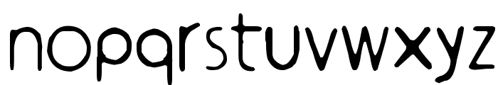 ympyroity Font LOWERCASE