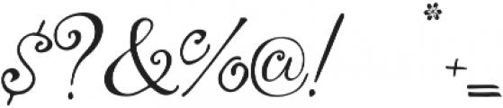 Yndina elegant font otf (400) Font OTHER CHARS