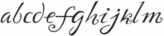 Yndina elegant font otf (400) Font LOWERCASE
