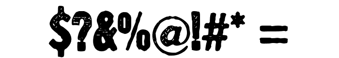 YnsectMoksha Font OTHER CHARS