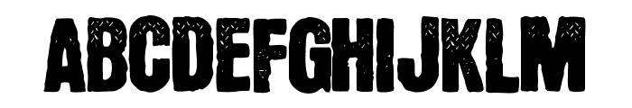YnsectMoksha Font UPPERCASE