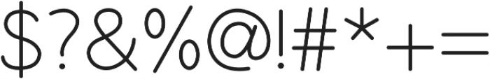Yoanna Regular otf (400) Font OTHER CHARS