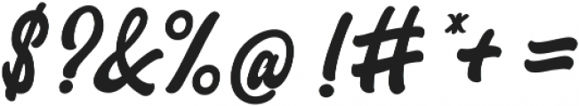 Yocellina ttf (400) Font OTHER CHARS