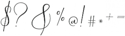 Yolan Script Regular ttf (400) Font OTHER CHARS