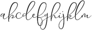 Yolan Script Regular ttf (400) Font LOWERCASE