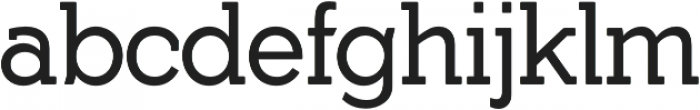 Yonky Regular otf (400) Font LOWERCASE
