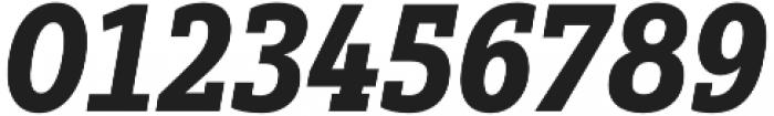 Yorkten Slab Cond Black Ital otf (900) Font OTHER CHARS