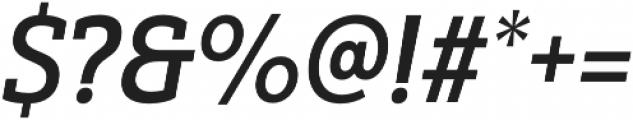 Yorkten Slab Cond Demi Ital otf (400) Font OTHER CHARS